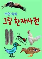 도서 이미지 - 보면 쏙쏙 그림 한자사전 (새와 곤충)