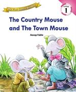 도서 이미지 - [오디오북] My First Classic Readers Lv.1 : 02. The Country Mouse and The Town Mouse