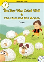 도서 이미지 - [오디오북] ECR Lv.2_24 : The Boy Who Cried Wolf & The Lion and the Mouse