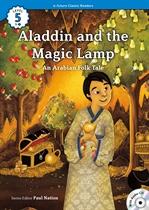 도서 이미지 - [오디오북] ECR Lv.5_08 : Aladdin and the Wonderful Lamp