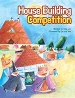 도서 이미지 - 삐죽이와 넓적이의 집짓기 대소동 - House building competition