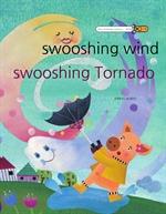 도서 이미지 - 씽씽 바람 쌩쌩 태풍 - 'swooshing wind swooshing Tornado'