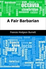 도서 이미지 - A Fair Barbarian