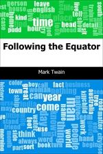 도서 이미지 - Following the Equator