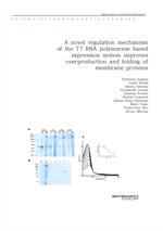도서 이미지 - A novel regulation mechanism of the T7 RNA polymerase based expression system improves ove