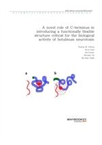 도서 이미지 - A novel role of C-terminus in introducing a functionally flexible structure critical for t