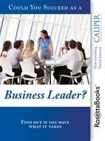 도서 이미지 - Could You Succeed as a Business Leader?