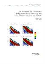 도서 이미지 - On modelling the relationship between vegetation greenness and water balance and land use