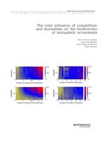 도서 이미지 - The joint influence of competition and mutualism on the biodiversity of mutualistic ecosys
