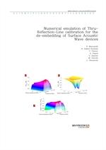 도서 이미지 - Numerical emulation of Thru-Reflection-Line calibration for the de-embedding of Surface Ac