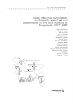 도서 이미지 - Avian influenza surveillance in domestic waterfowl and environment of live bird markets in