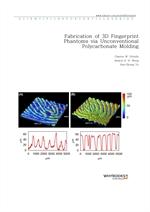 도서 이미지 - Fabrication of 3D Fingerprint Phantoms via Unconventional Polycarbonate Molding