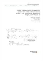 도서 이미지 - Novel haptens and monoclonal antibodies with subnanomolar affinity for a classical analyti