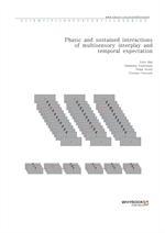도서 이미지 - Phasic and sustained interactions of multisensory interplay and temporal expectation