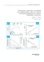 도서 이미지 - Biomimetic materials assembled on a photovoltaic cell as a novel biosensing approach to ca