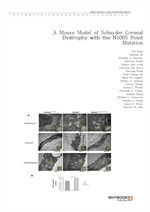 도서 이미지 - A Mouse Model of Schnyder Corneal Dystrophy with the N100S Point Mutation
