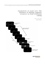 도서 이미지 - Automaticity of social cues The influence of limiting cognitive resources on head orientat