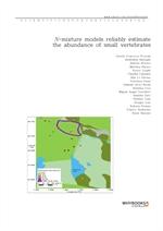 도서 이미지 - N-mixture models reliably estimate the abundance of small vertebrates