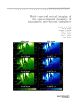 도서 이미지 - Multi-spectral optical imaging of the spatiotemporal dynamics of ionospheric intermittent