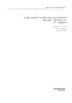 도서 이미지 - Hypothermia ameliorates blast-related lifespan reduction of C. elegans
