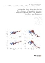 도서 이미지 - Functional brain networks reveal the existence of cognitive reserve and the interplay betw