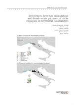 도서 이미지 - Differences between microhabitat and broad-scale patterns of niche evolution in terrestria