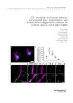 도서 이미지 - CB1 receptor activation induces intracellular Ca2+ mobilization and 2-arachidonoylglycerol