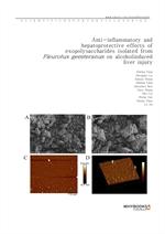 도서 이미지 - Anti-inflammatory and hepatoprotective effects of exopolysaccharides isolated from Pleurot