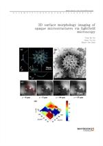 도서 이미지 - 3D surface morphology imaging of opaque microstructures via light-field microscopy