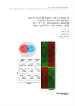 도서 이미지 - Novel natural killer cell-mediated cancer immunotherapeutic activity of anisomycin against