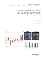도서 이미지 - Hemostatic nanoparticles increase survival, mitigate neuropathology and alleviate anxiety