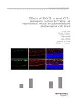 도서 이미지 - Effects of BNN27, a novel C17-spiroepoxy steroid derivative, on experimental retinal detac
