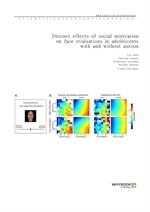 도서 이미지 - Distinct effects of social motivation on face evaluations in adolescents with and without
