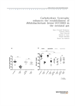 도서 이미지 - Carbohydrate Syntrophy enhances the establishment of Bifidobacterium breve UCC2003 in the
