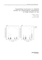 도서 이미지 - Quantifying hormones in exhaled breath for physiological assessment of large whales at sea