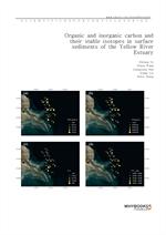 도서 이미지 - Organic and inorganic carbon and their stable isotopes in surface sediments of the Yellow