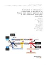 도서 이미지 - Generation of sphingosine-1-phosphate is enhanced in biliary tract cancer patients and is