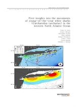도서 이미지 - First insights into the movements of young-of-the-year white sharks (Carcharodon carcharia