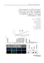 도서 이미지 - Development of nsP2 protease based cell free high throughput screening assay for evaluatio
