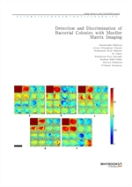 도서 이미지 - Detection and Discrimination of Bacterial Colonies with Mueller Matrix Imaging