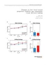도서 이미지 - Changes in low-level neural properties underlie age-dependent visual decision making