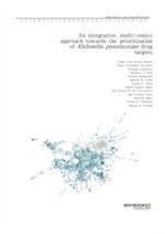 도서 이미지 - An integrative, multi-omics approach towards the prioritization of Klebsiella pneumoniae d