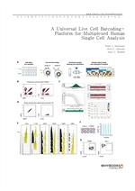 도서 이미지 - A Universal Live Cell Barcoding-Platform for Multiplexed Human Single Cell Analysis