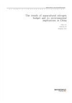 도서 이미지 - The trends of aquacultural nitrogen budget and its environmental implications in China