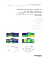 도서 이미지 - Ranking genome-wide correlation measurements improves microarray and RNA-seq based global