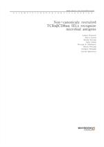 도서 이미지 - Non-canonicaly recruited TCRαβCD8αα IELs recognize microbial antigens