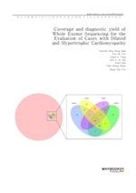 도서 이미지 - Coverage and diagnostic yield of Whole Exome Sequencing for the Evaluation of Cases with D