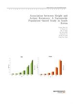 도서 이미지 - Association between Height and Actinic Keratosis A Nationwide Population-based Study in So