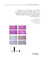 도서 이미지 - Substitution of linoleic acid with α-linolenic acid or long chain n-3 polyunsaturated fatt