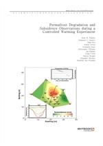 도서 이미지 - Permafrost Degradation and Subsidence Observations during a Controlled Warming Experiment